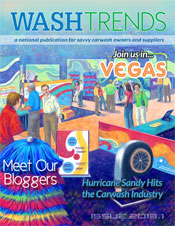 A carwash magazine for car wash professionals on the hottest trends in the car wash industry